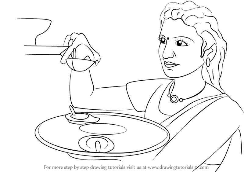 coloring pages of diwali scenes - photo#19