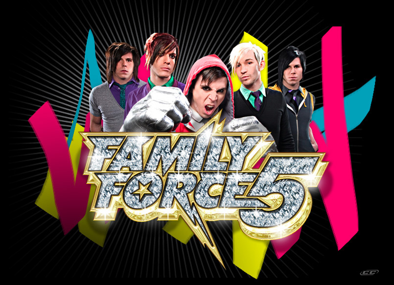 Family-Force-5--Reanimated-2013-Band-Members
