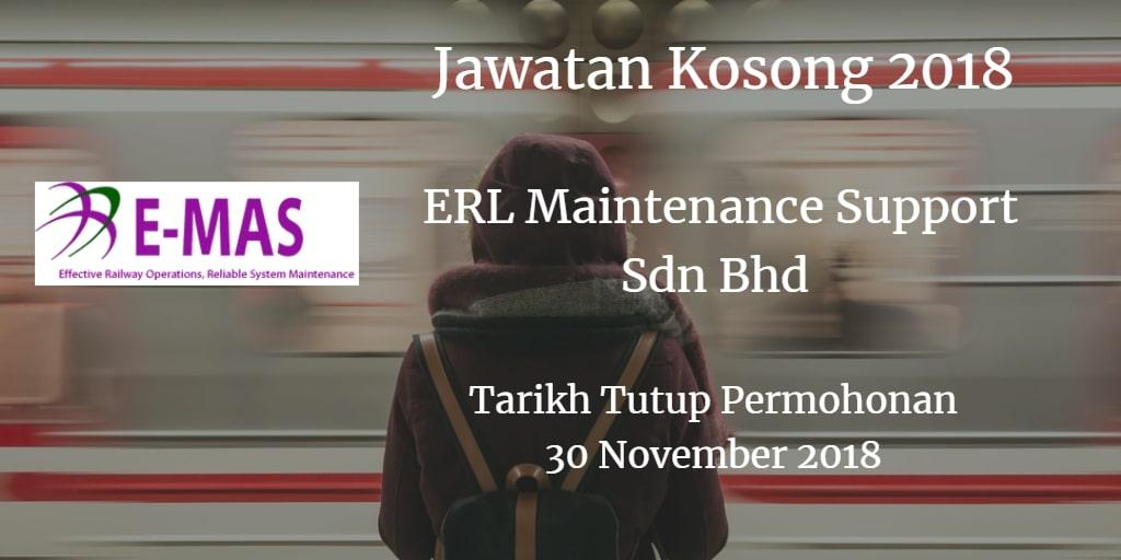Jawatan Kosong E-MAS 30 November 2018