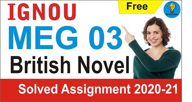 meg 03;  british novel
