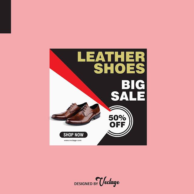shoe banner design,