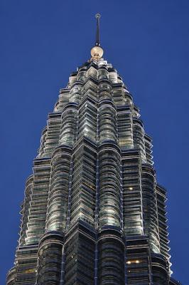 Torres Petronas em Kuala Lumpur, na Malásia