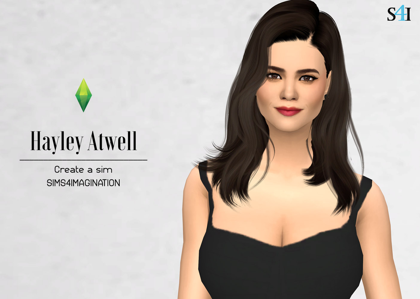 My Sims 4 CAS: Hayley Atwell (Patreon)
