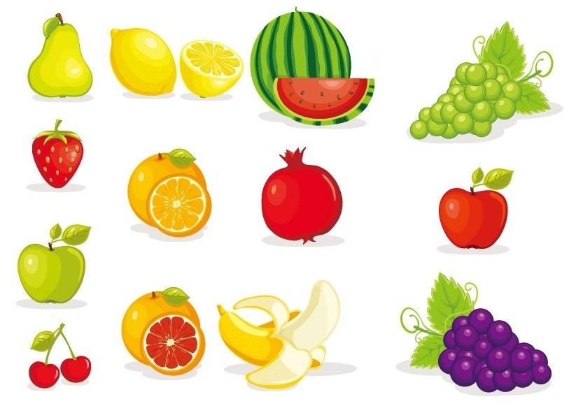 Desenhos Para Colorir E Imprimir: Desenhos De Frutas Para
