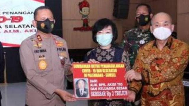 Polisi Periksa Saksi Terkait Kisruh Sumbangan Akidi Tio, Heryanty.lelemuku.com.jpg