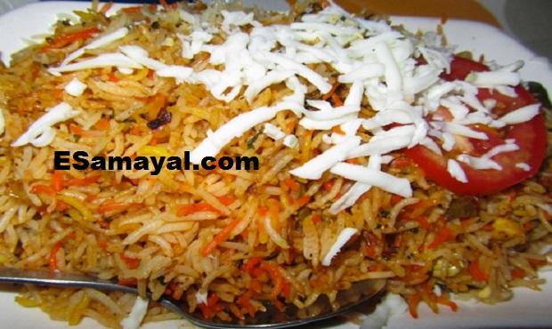 சீஸ் பிரியாணி செய்வது | Cheese Biryani Recipe !