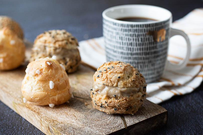 recette Choux à la crème au café
