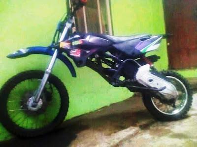 Motor Metik Dimodif Jadi Motor Trail, Emang Bisa?