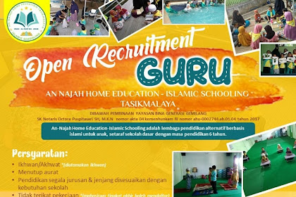LOWONGAN KERJA GURU AN-NAJAH HOME EDUCATION TASIKMALAYA