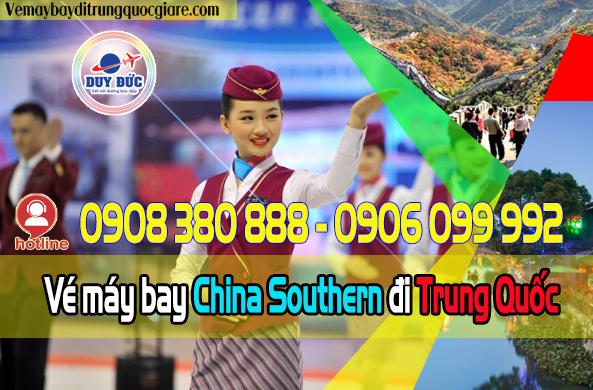 Vé máy bay China Southern đi Trung Quốc