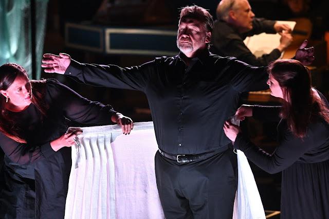 Errollyn Wallen, Henry Purcell: Dido's Ghost - Henry Waddington, Lucy Goddard, Judy Louie Brown - Barbican Hall 2021 (Photo Mark Allan / Barbican)