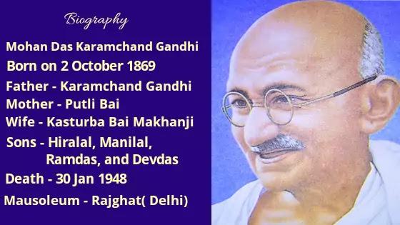 Story Of Mahatma Gandhi