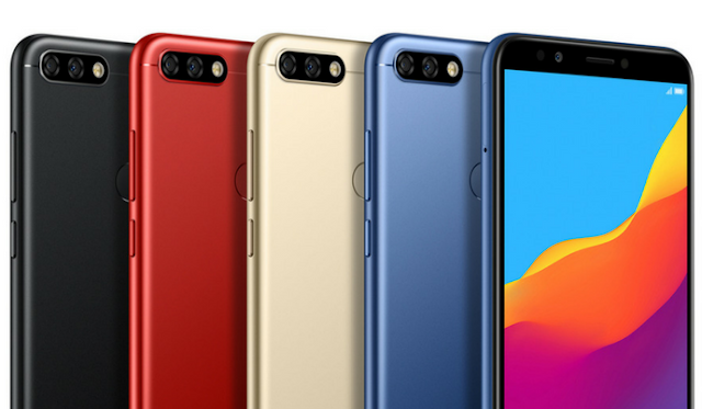 Honor 7A & Honor 7C with 18:9 Displays & Dual Cameras Launched in the UK
