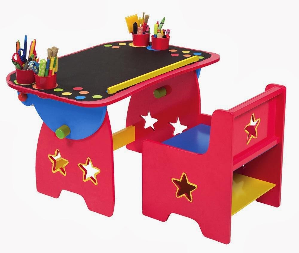 Art Desk For Toddlers