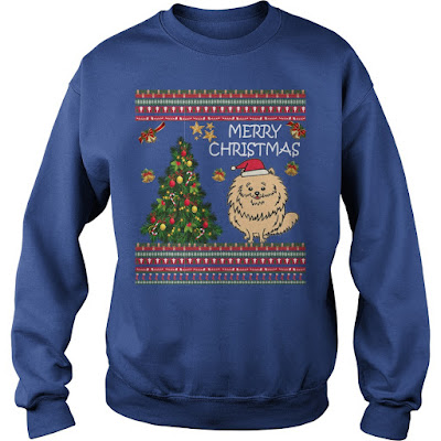 Ugly Christmas Sweaters 2019.Country Cute Pomeranian Ugly Christmas Sweater Pomeranian