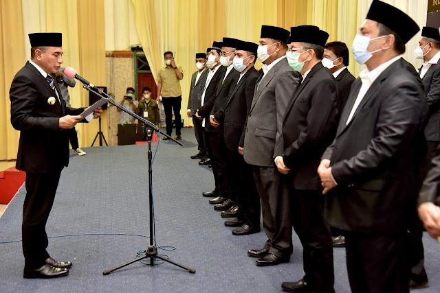 Pengurus Aceh Sepakat Dikukuhkan, Edy Rahmayadi Tekankan Pentingnya Menjaga Persaudaraan