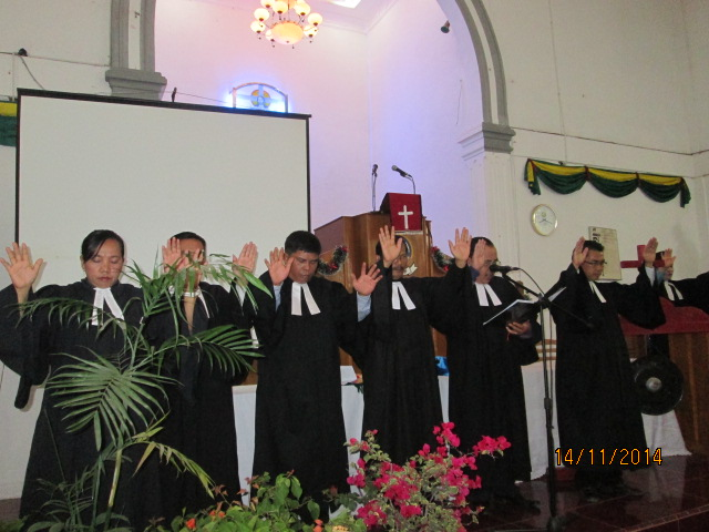 Pengurus Pusat Huria Kristen Indonesia Protestan (HKIP) Adakan Syukuran Tahun Baru 2012