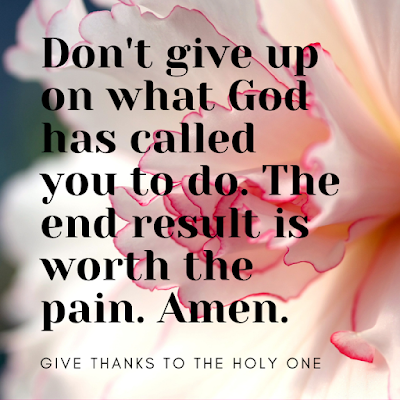 Inspirational Quote September 24 2020 Give Thanks To The Holy One