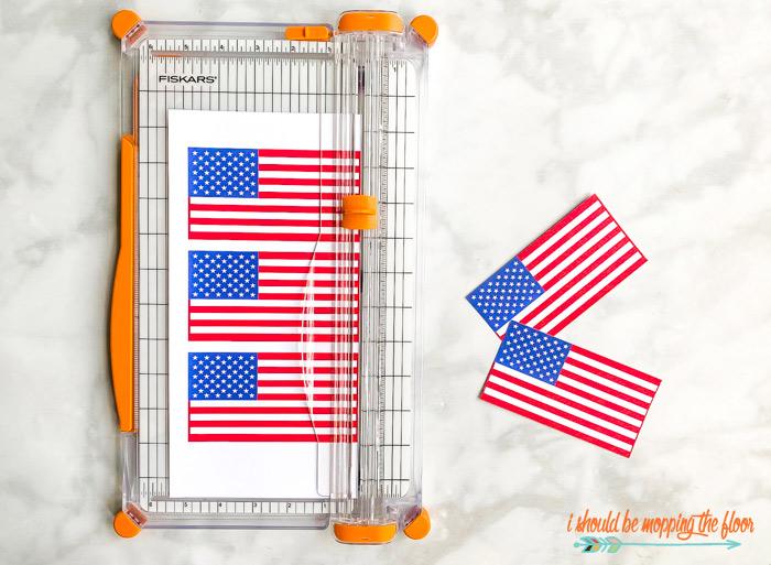 Free Patriotic Flag Banner Printables