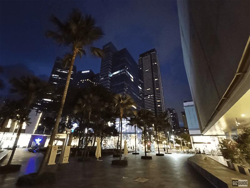 Ultra-wide camera low light