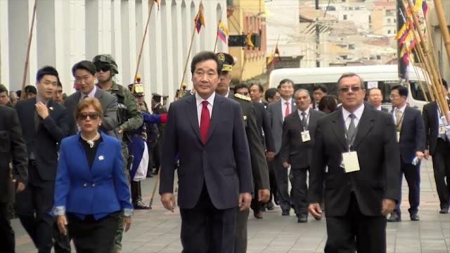 Ecuador y Corea del Sur firman acuerdos financieros y económicos