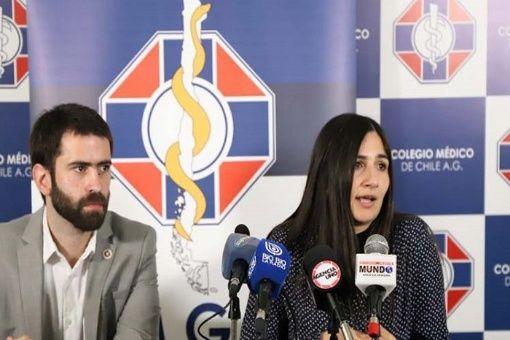 Médicos generales de Chile anuncian protestas nacionales
