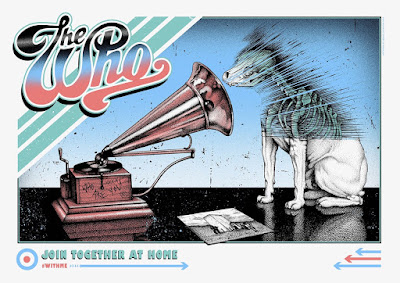 """The Who """"Join Together @ Home"""" Screen Print by Paul Jackson x Collectionzz"""