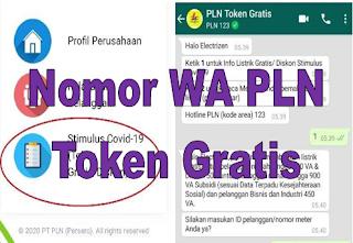 Nomor WA PLN Token Gratis