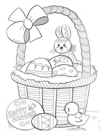 Desenhos De Pascoa Para Imprimir 2014 Mundo Social