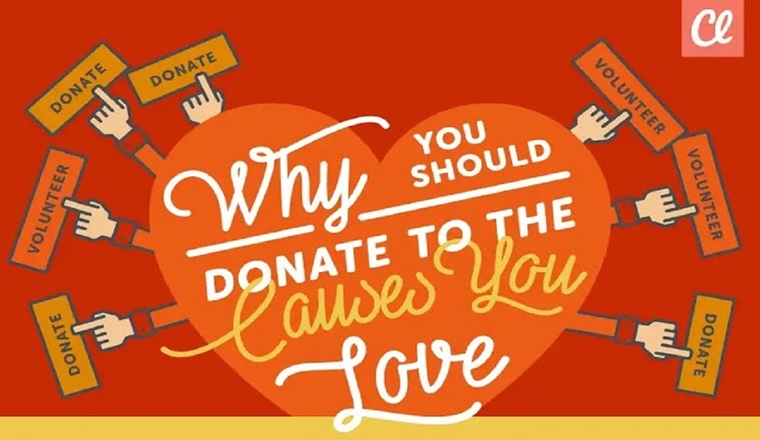 Why You Should Donate to the Causes You Love #infographic