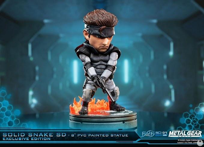 SORTEIO: Uma Estátua De Solid Snake de Metal Gear Solid!