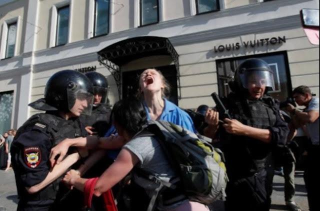 روسيا تدعو الولايات المتحدة بعدم التدخل في شئونها الداخلية
