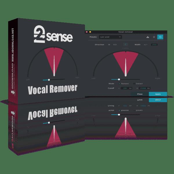 2nd Sense Vocal Remover v1.0.0 Full version