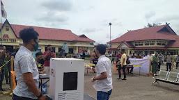 Bawaslu dan Kapolres Kritik Simulasi Pemilihan di TPS Oleh KPU