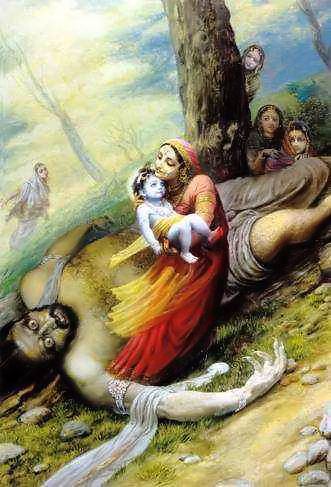 Cute Love Hd Images For Wallpaper Lord Krishna Leela Story Birth Amp Growth Illustration
