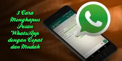 Cover Cara Menghapus Pesan WhatsApp