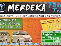 Jadwal Travel Merdeka Jogja - Banjarnegara PP