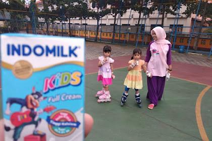 Lebih Mudah Mengasuh Anak Kembar dengan Indomilk UHT Kids Full Cream