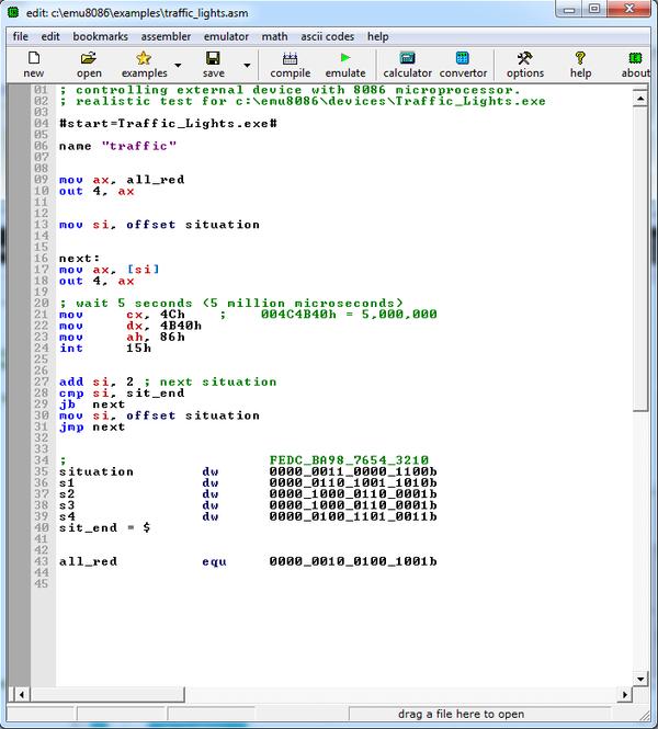 emu8086 assembleur gratuit