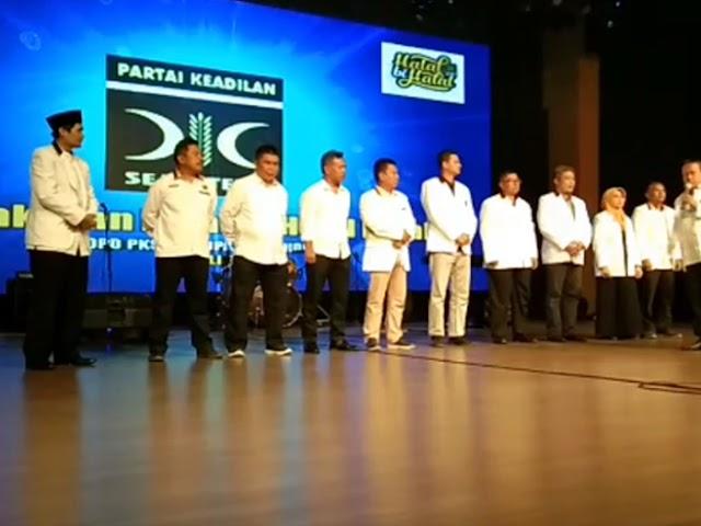 Halal Bihalal DPD PKS Kabupaten Bandung Usung Bakal Calon Pilbup Kabupaten Bandung 2020