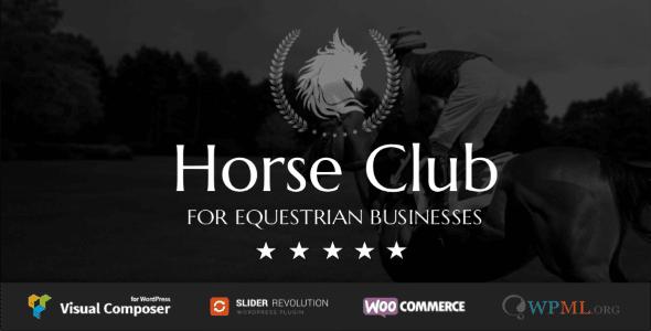 Horse Club v2.2 - Equestrian WordPress Theme