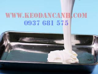 Pha keo sữa 2 thành phần