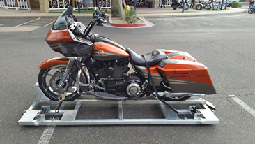 How do you make a motorcycle pallet?