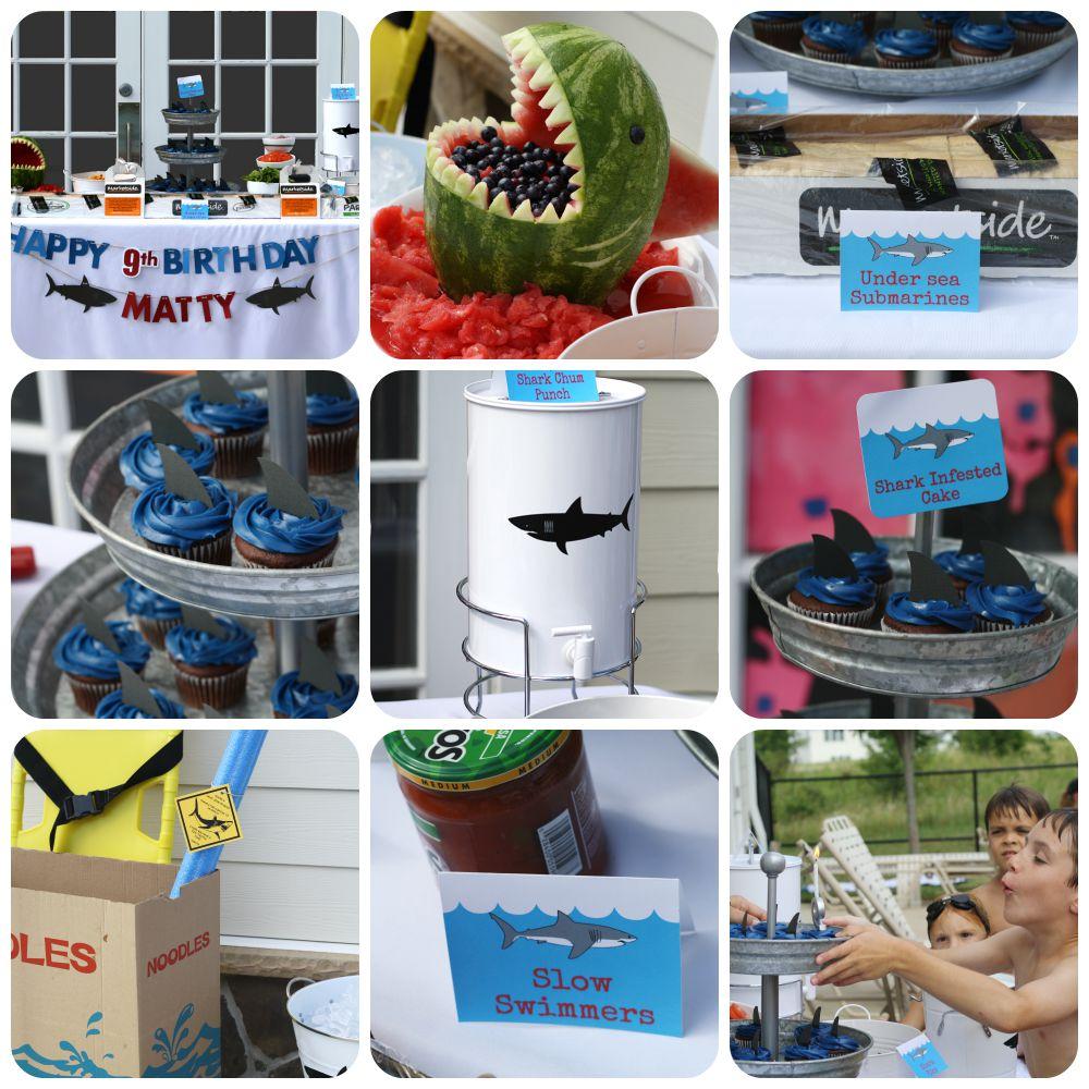 Boy Shark Party