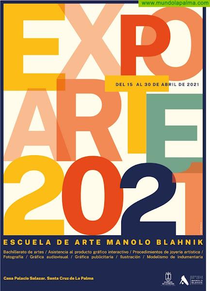 La Casa Principal de Salazar acoge Expoarte 2021 con las creaciones del alumnado del Manolo Blahnik