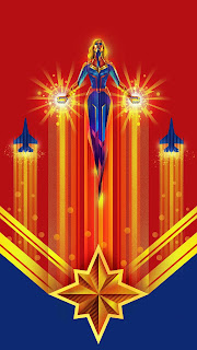 Captain Marvel Mobile HD Wallpaper
