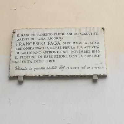 Targa Fagà Via Locchi