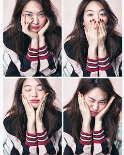 Shin Min Ah In Magazine, Pelakon Shin Min Ah Dalam Majalah,