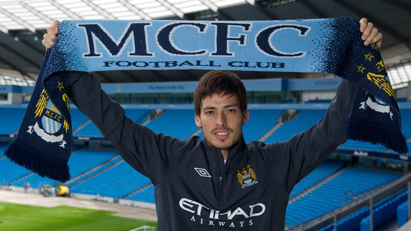David Silva HD New Nice Wallpapers 2012