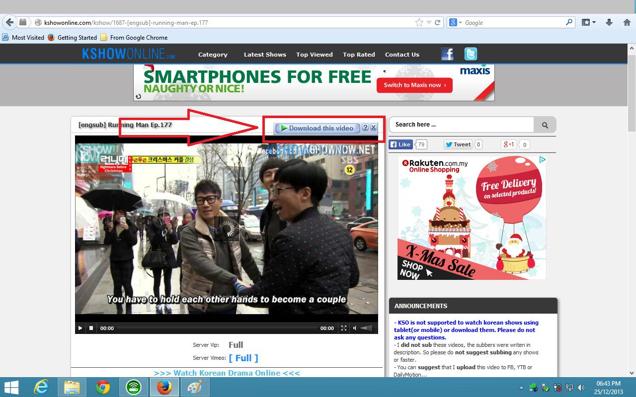 cara download video di fb secara online